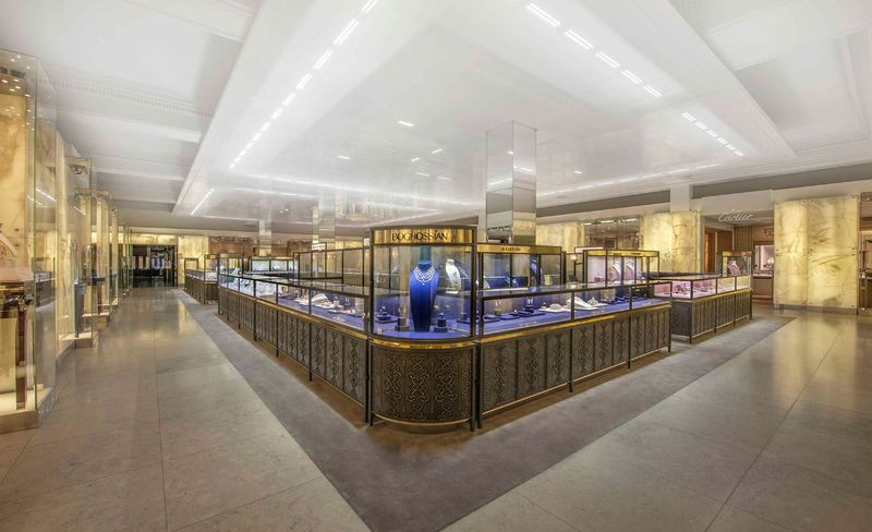Luxurious Private Jewelry Spaces