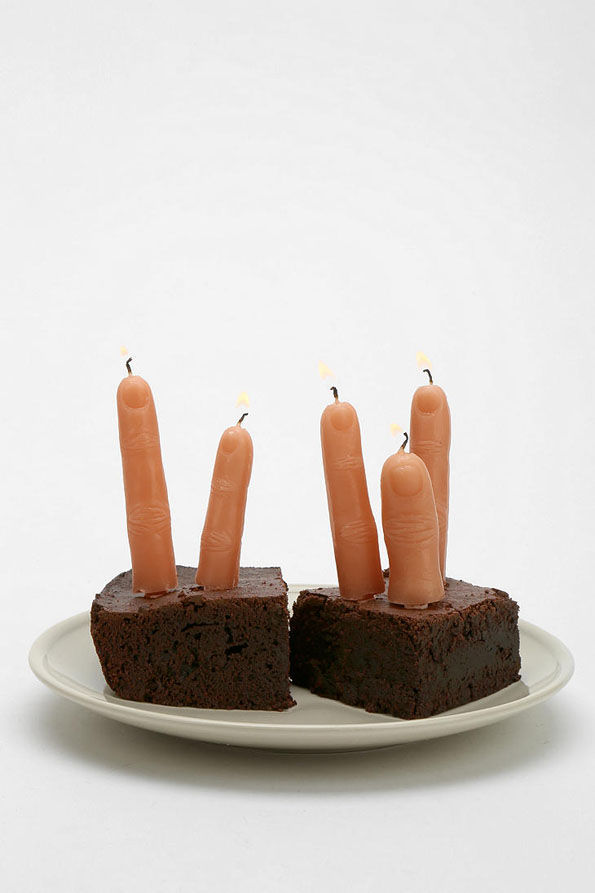 Haunting Cake Torch Fingers