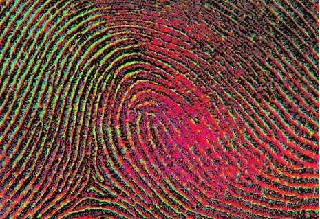 Trippy Fingerprint Art