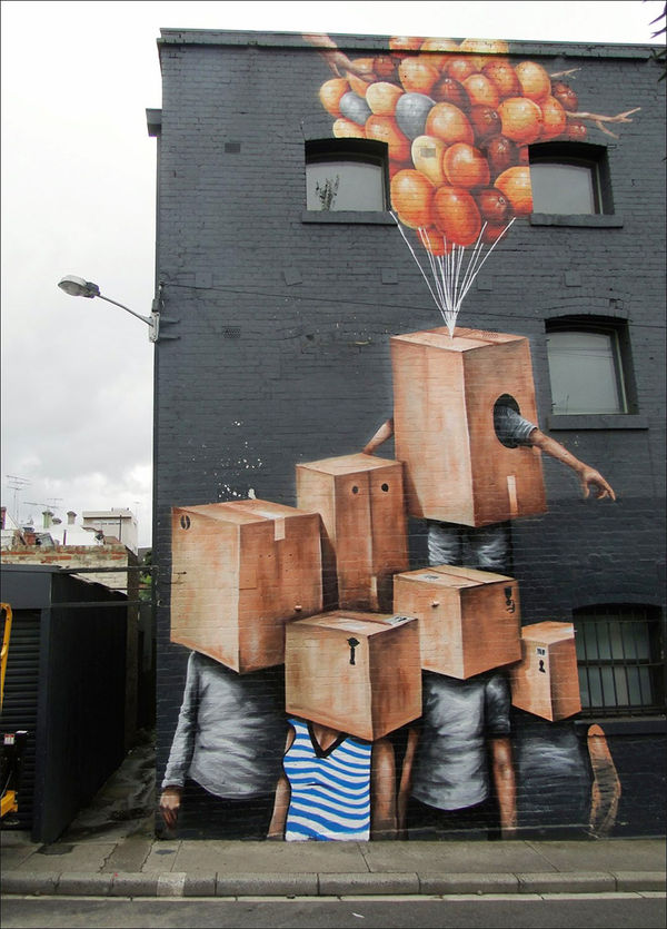 Surreal City Murals
