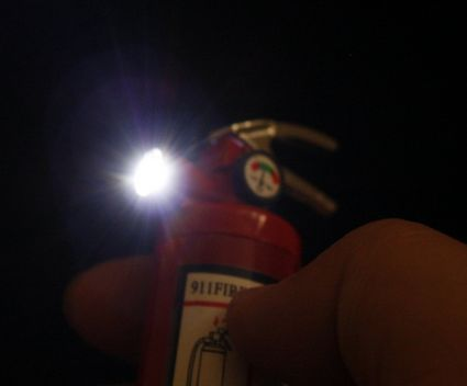 Ironic Fire-Extinguishing Lighters