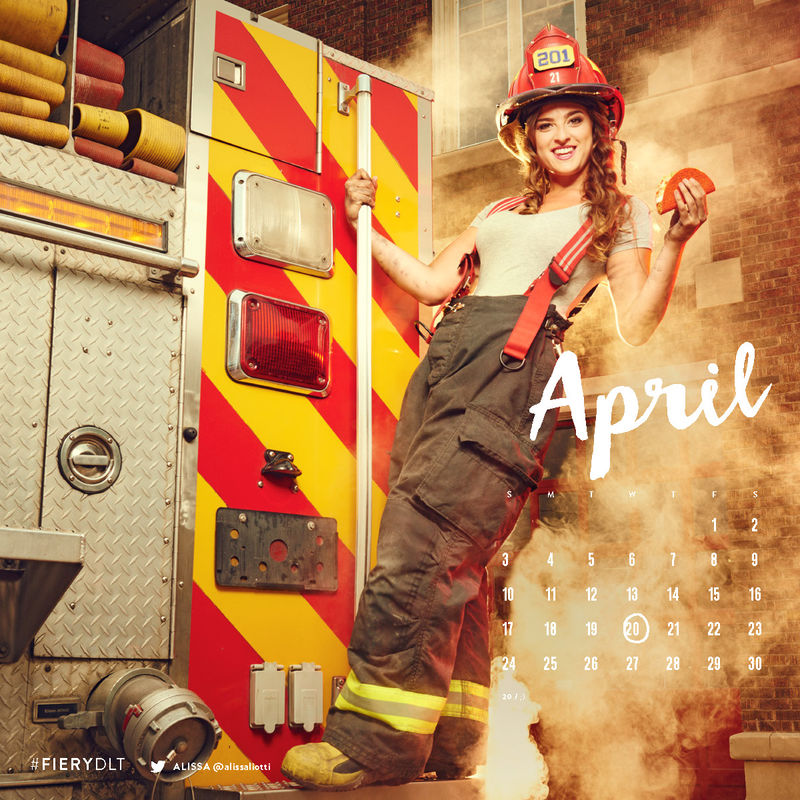 Spicy Firefighter Calendars