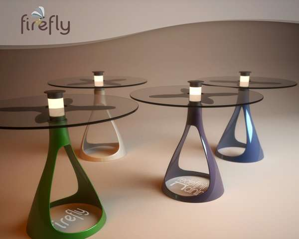 Firefly Solar Lamp Table
