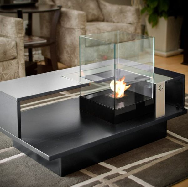 Enclosed Candle Table Tops