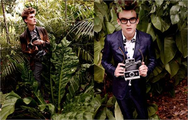 fires in the jungle in gq russia