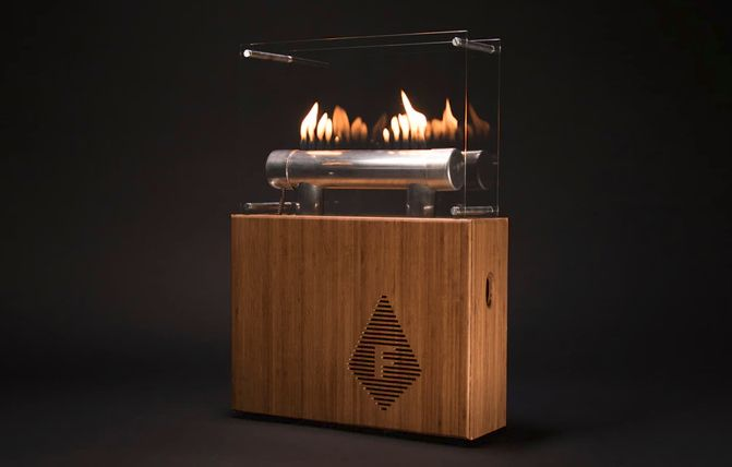 Fireplace-Inspired Stereos