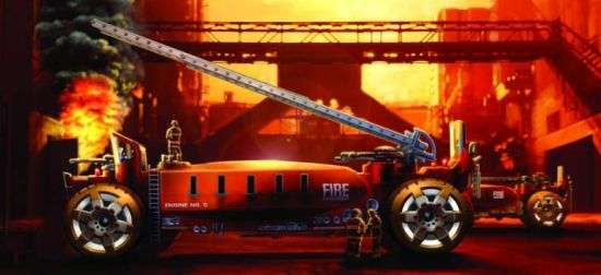 2025 Firetruck Concept