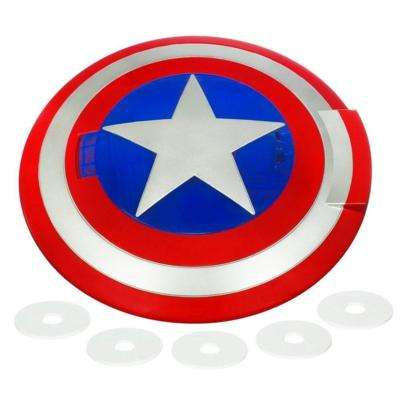 Simulated Superhero Shields