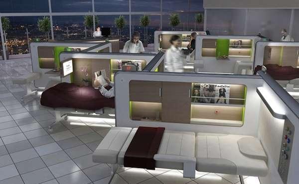 Sci-Fi Patient Precincts