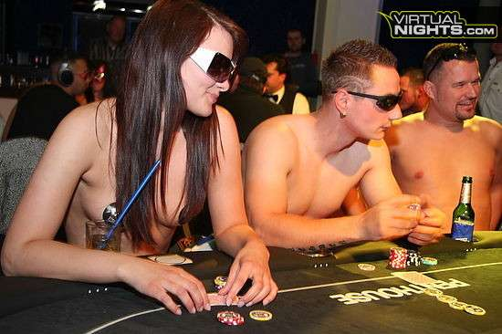 first strip poker tournament