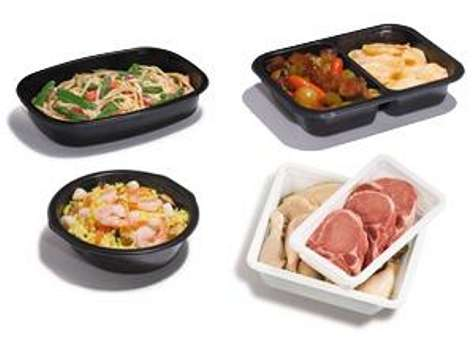 Conscientious Plastic Food Trays