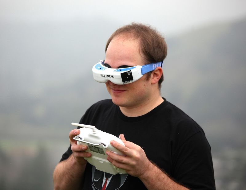 Drone Experience Glasses