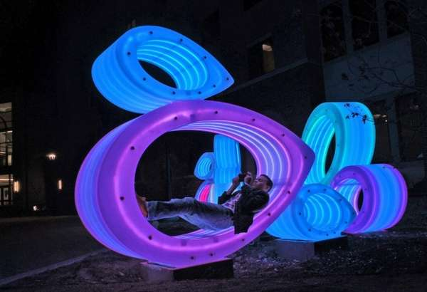 Climbable Luminescent Installations