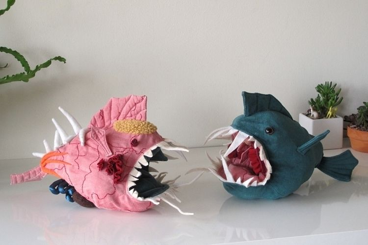 Anatomical Aquatic Plush Toys