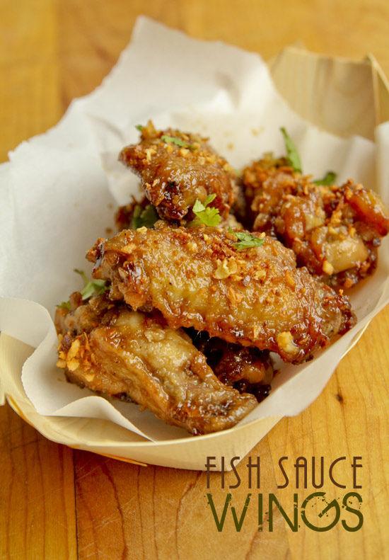 Fishy Chicken Wings