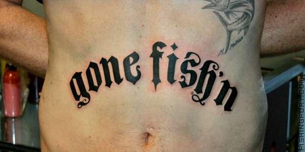 Fishing-Inspired Tattoos