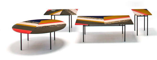 Fishbone Table Collection