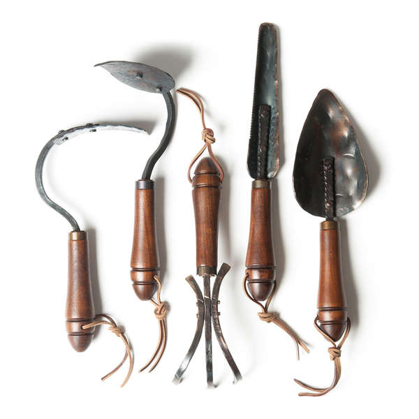 Hand forged tilling tools fisher blacksmithing garden tools for Best gardening equipment