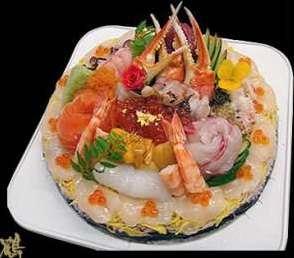 Birthday Cake Sushi