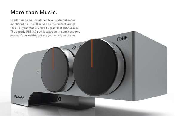 Minimalist Concept Amps