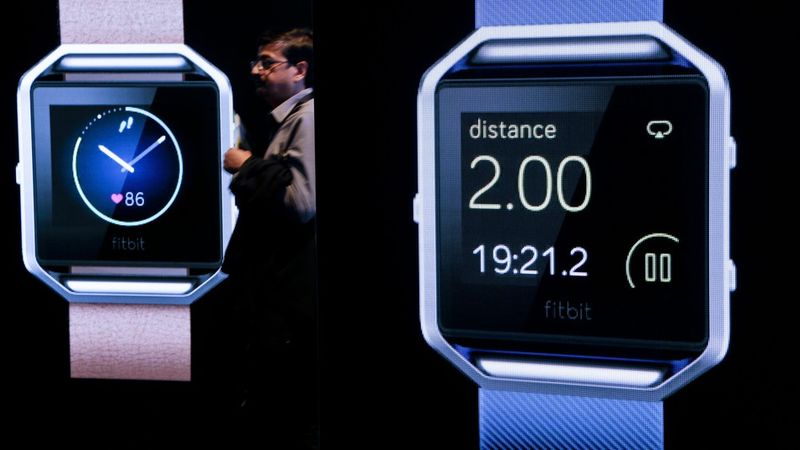 Fitness-Encompassing Smartwatches : Fitbit smartwatch