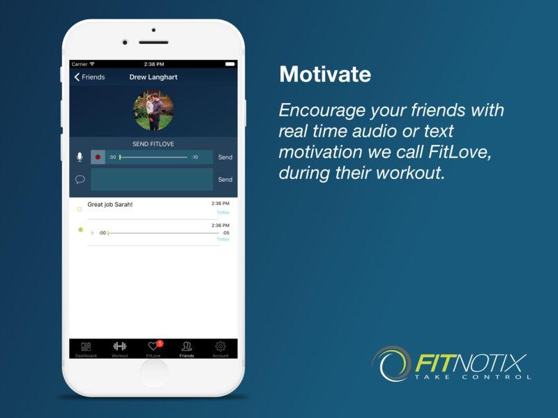Motivational Social Fitness Apps