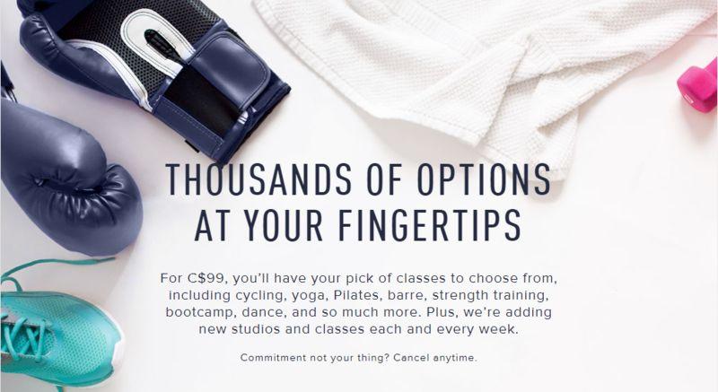 Canadian Fitness Memberships