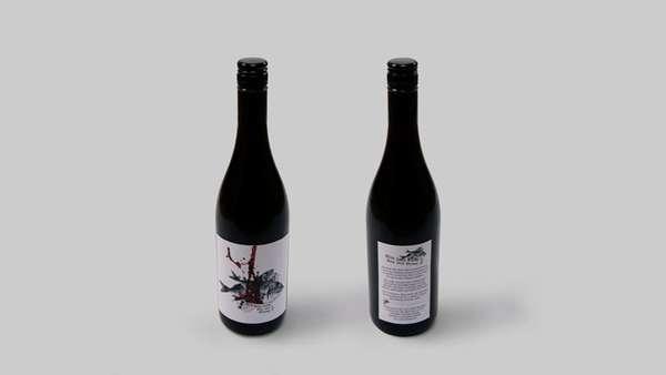 Fishy Vino Branding