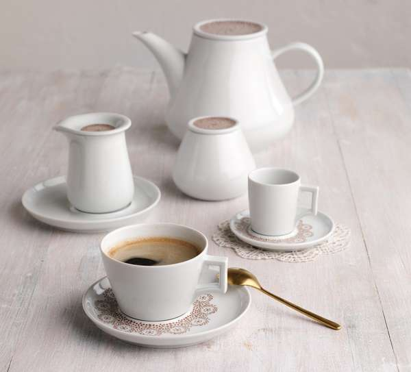 Five Senses Centuries Old handles meet modern tableware