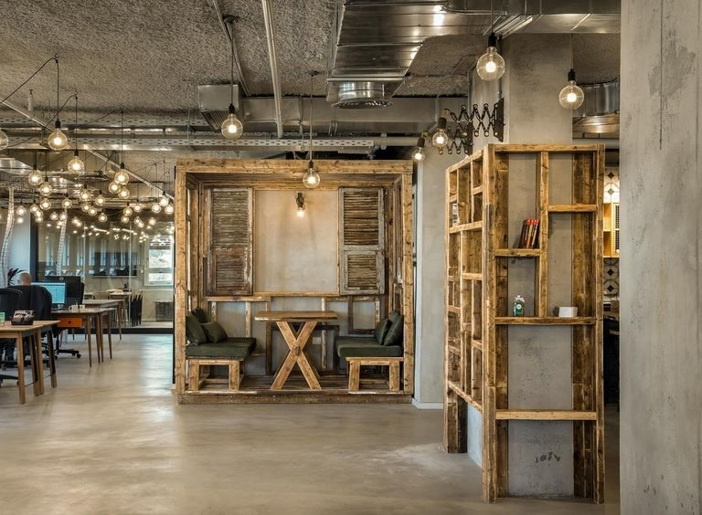 Recycled Wooden Offices