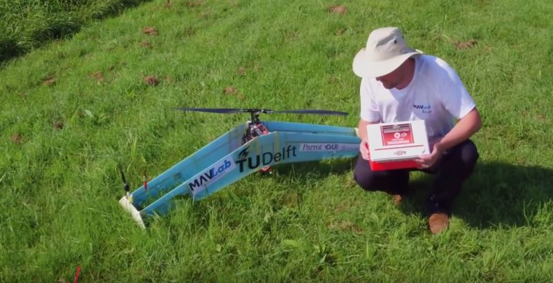 Hybrid Propeller Drones : fixed-wing drone