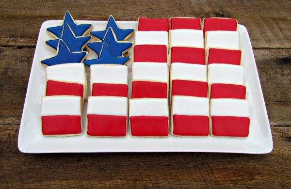 Eye-Popping Patriotic Platters