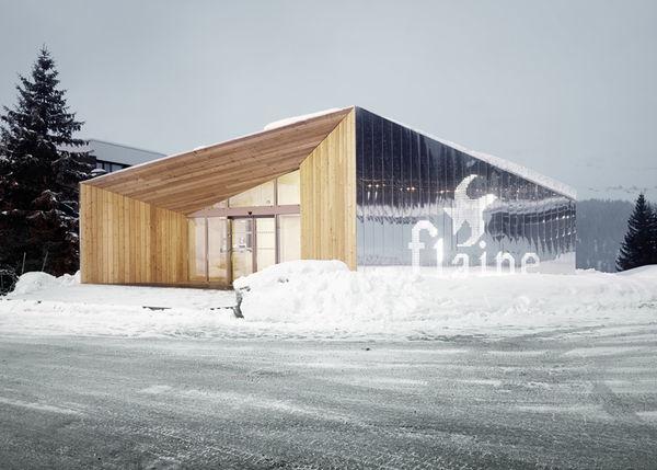 Reflective Resort Pavilions