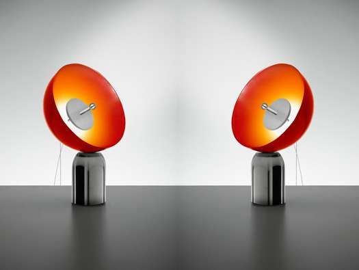 Satellite-Shaped Lamps
