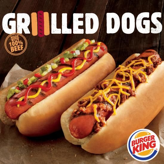 Flame-Grilled Hot Dogs