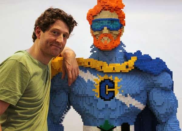 Bricked Superhero TV Hosts