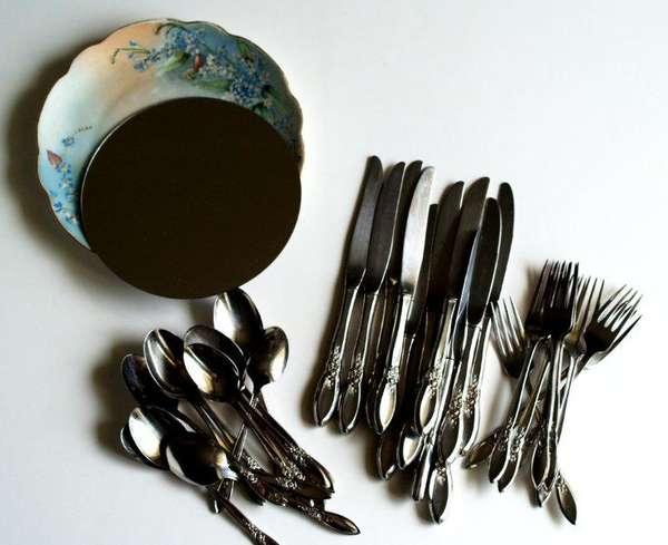 DIY Kitchen Utensil Decor