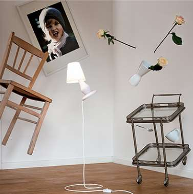 FlapFlap 10 Floor Lamp