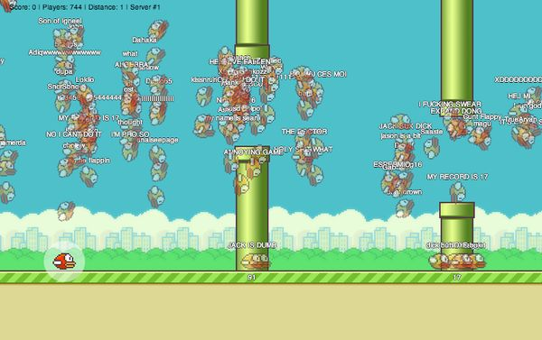 flying birds game