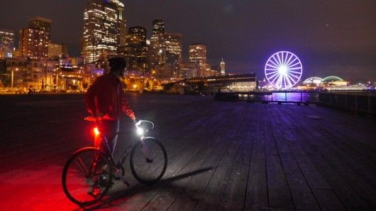 360-Degree Bike Lights
