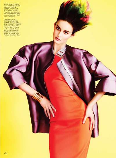 Spiked Ombre Editorials