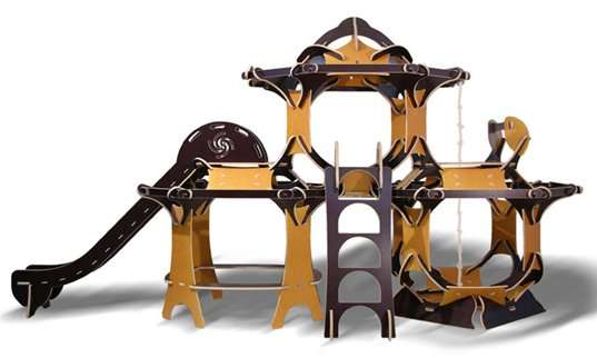 Clustered Play Forts