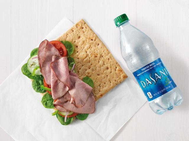 Multigrain Flatbread Sandwiches