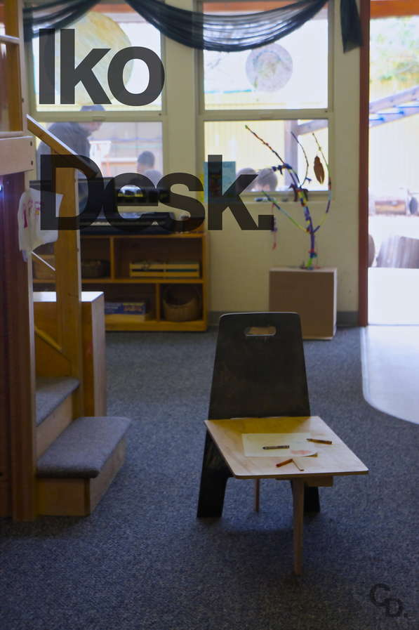 Flatpack Childrens Desk