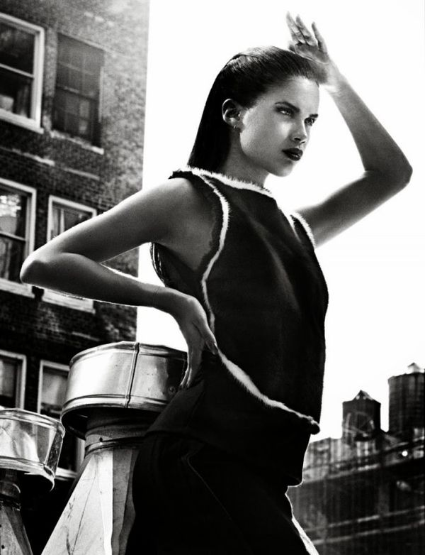 Sleek Rooftop Editorials