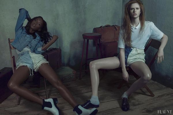 Dingy Denim Editorials