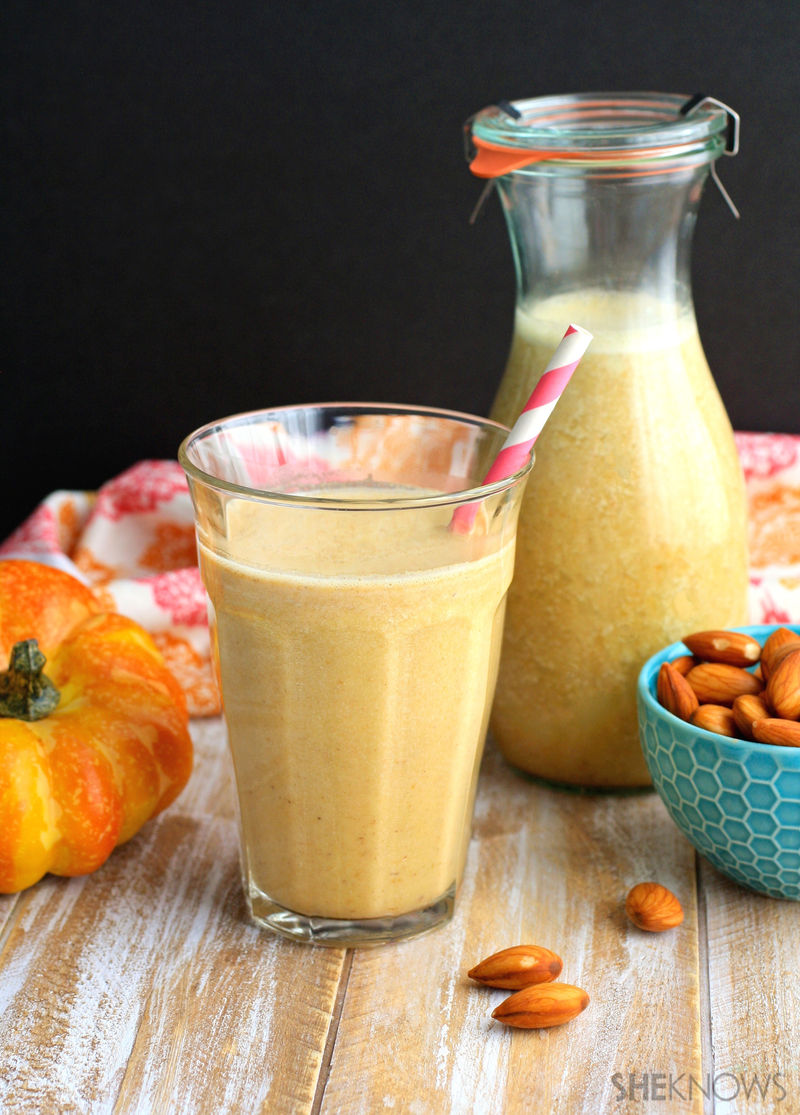 Pumpkin Nut Milks