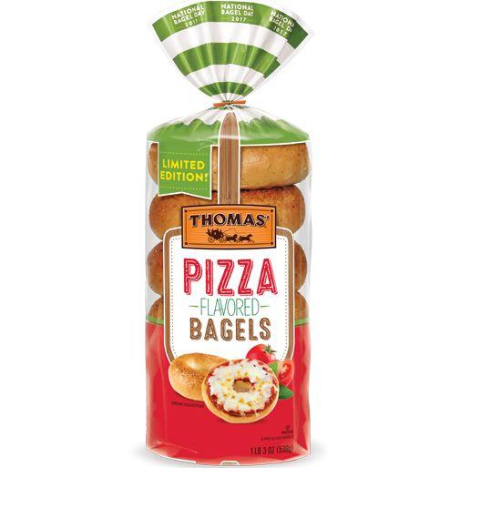 Seasoned Pizza Bagels