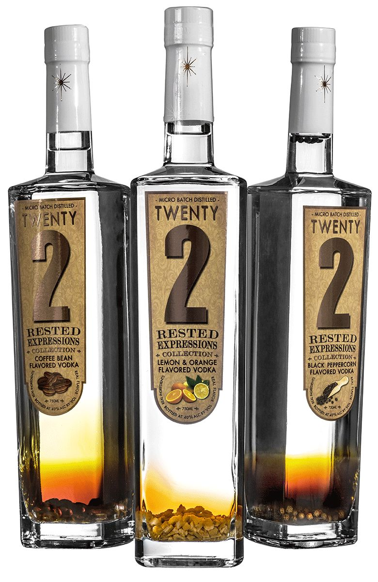 Artisanal Vodka Flavors