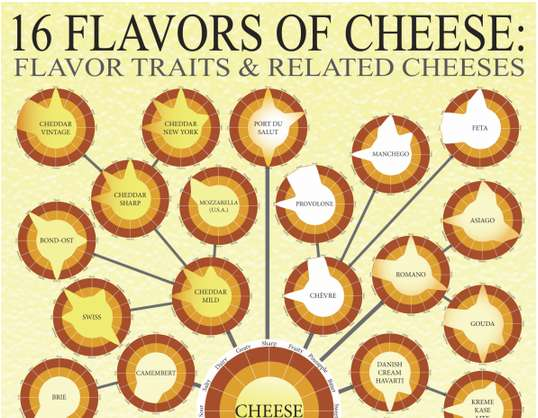 Cheese-Choosing Infographics